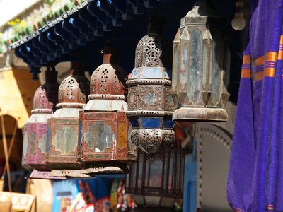 Lampen aus Marokko