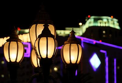 lampen in las vegas